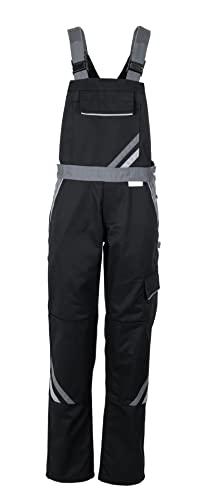 Planam Highline Damen Latzhose schwarz Schiefer Zink Modell 2719 Größe 40