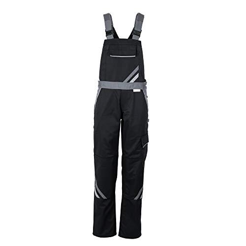 Planam Größe 40 Damen Highline Damen Latzhose schwarz Schiefer Zink Modell 2719