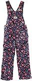 OshKosh B'Gosh Latzhose 56/62 Mädchen dunkelblau geblumt Blume Pant Babyhose